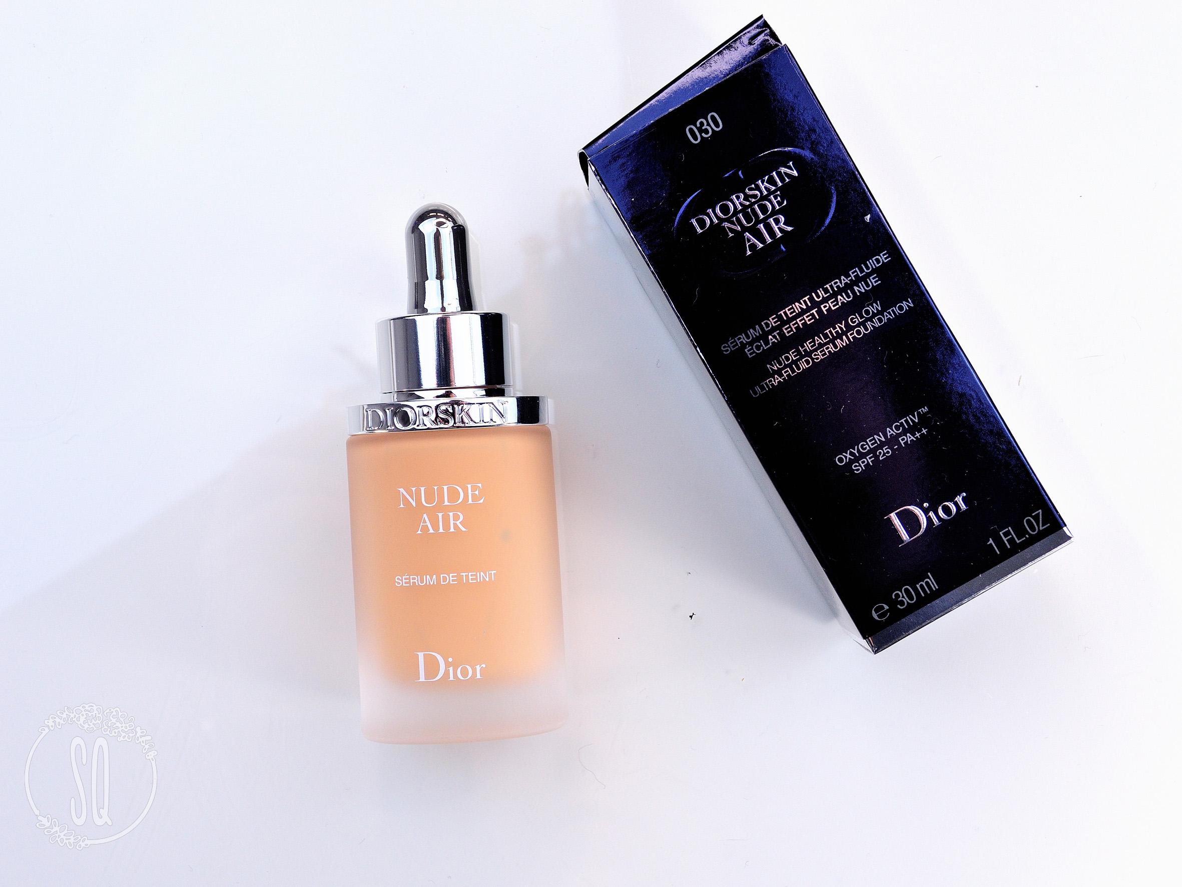 Poniendo a prueba la base Nude Air de Dior