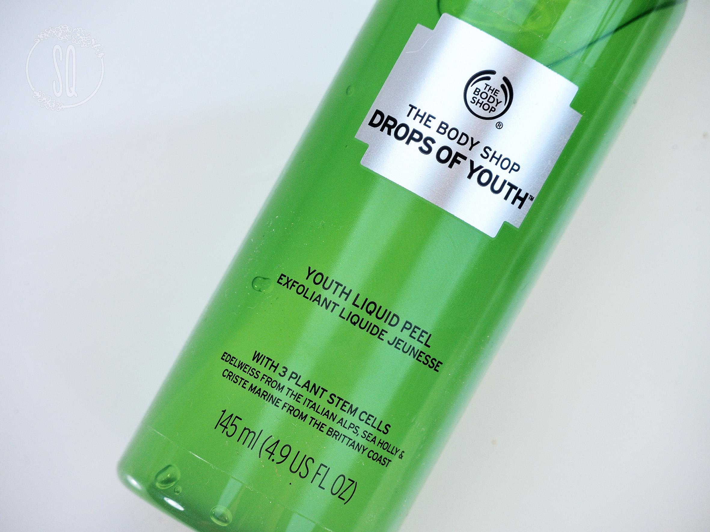 Nuevo Peeling líquido Drop of Youth de The Body Shop