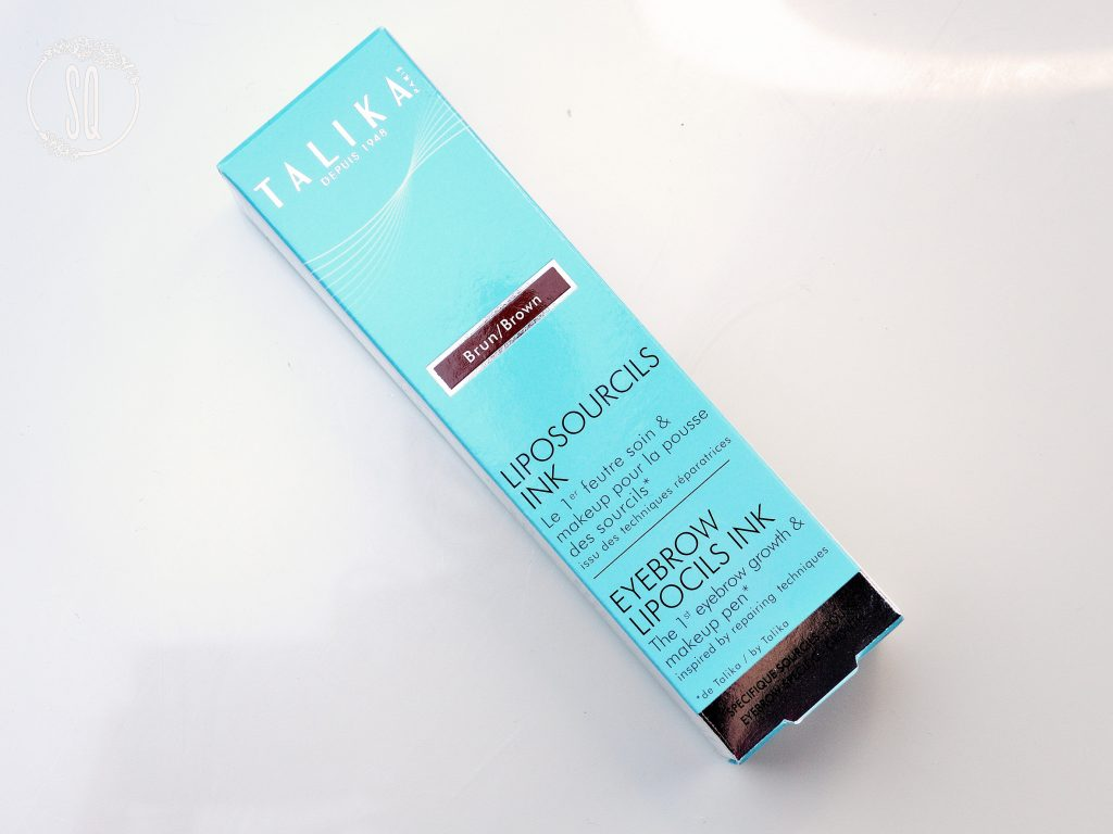 Maquillaje y tratamiento de cejas dos en uno de Talika