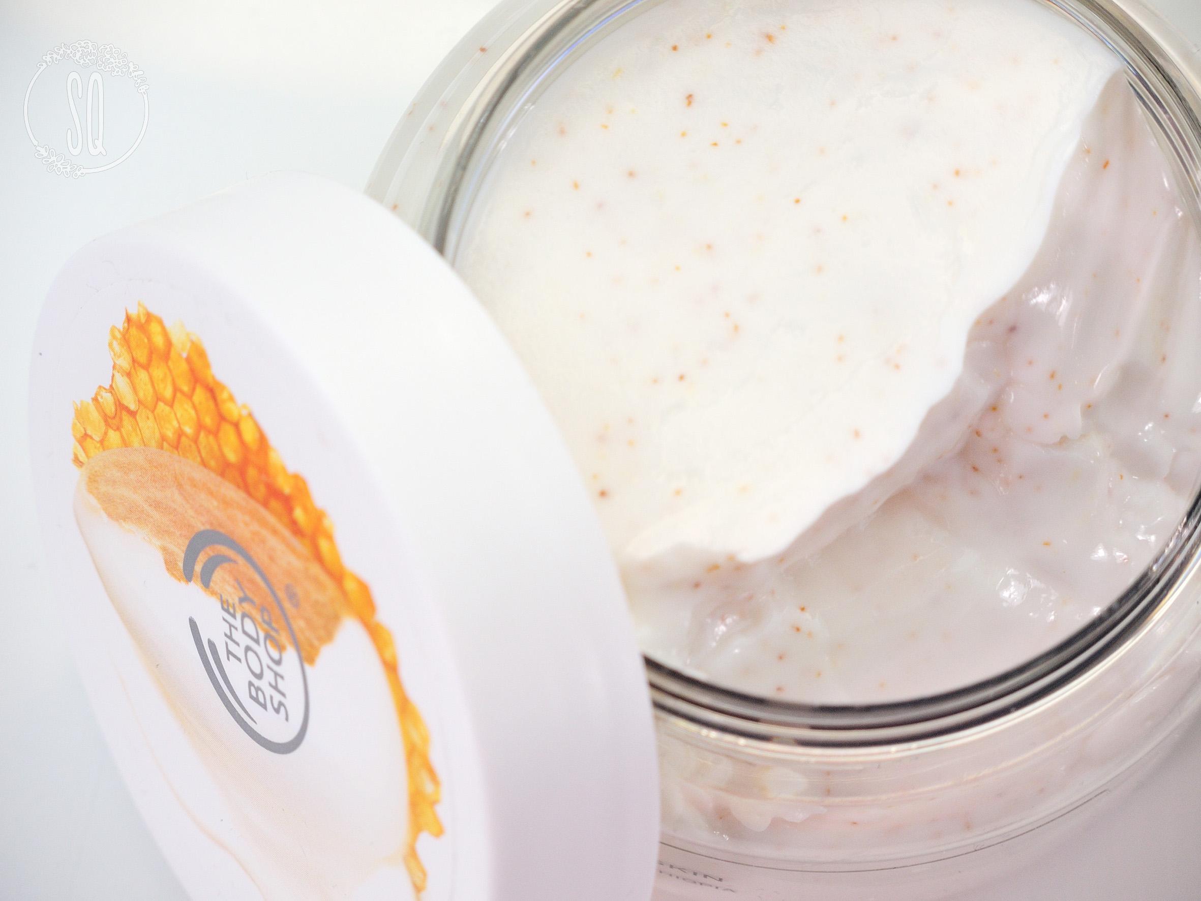 Nueva línea de cuidado corporal de leche de almendras y miel de The Body Shop