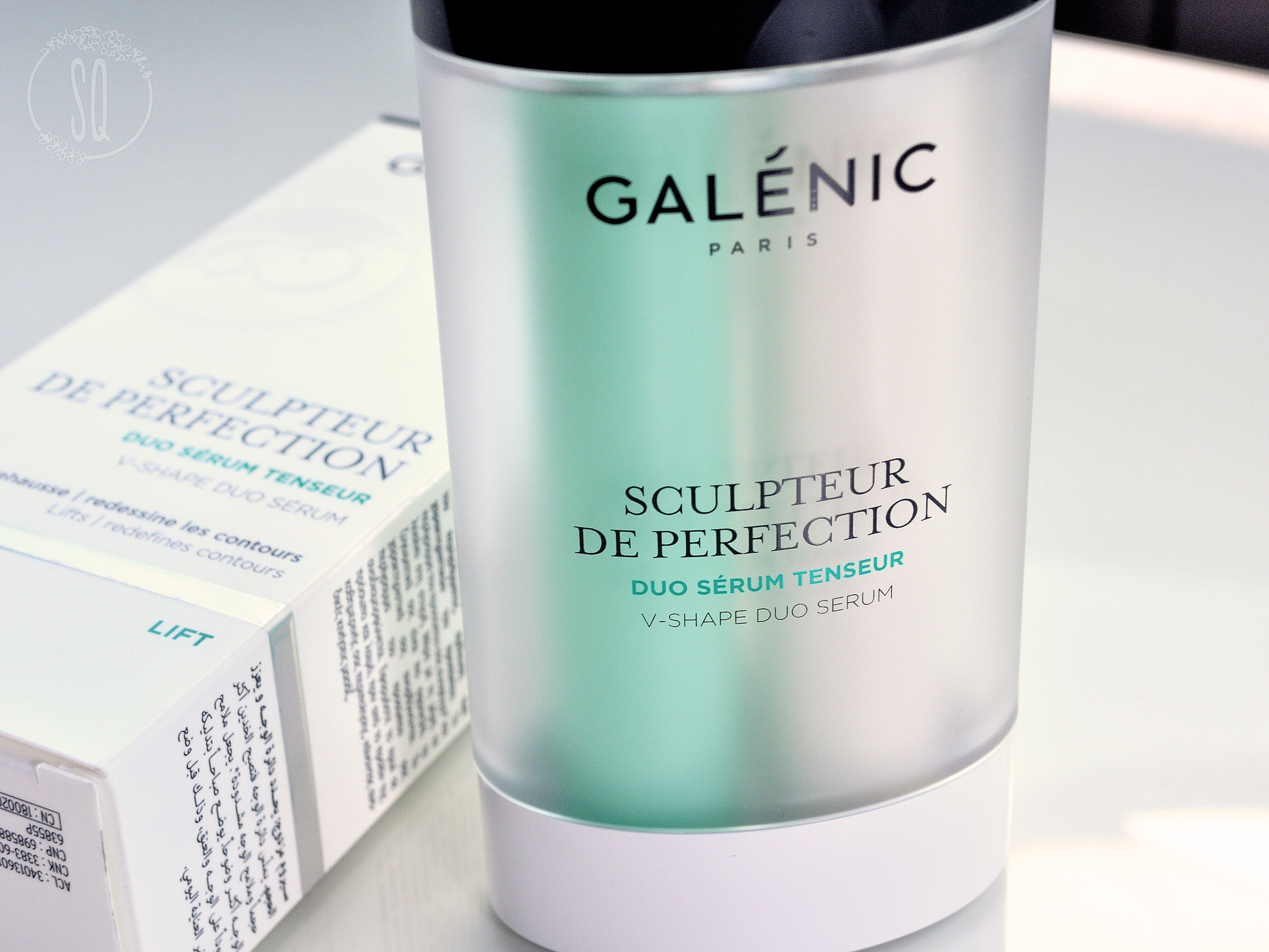 Duo sérum Tensor Sculpteur de Perfection de Galénic