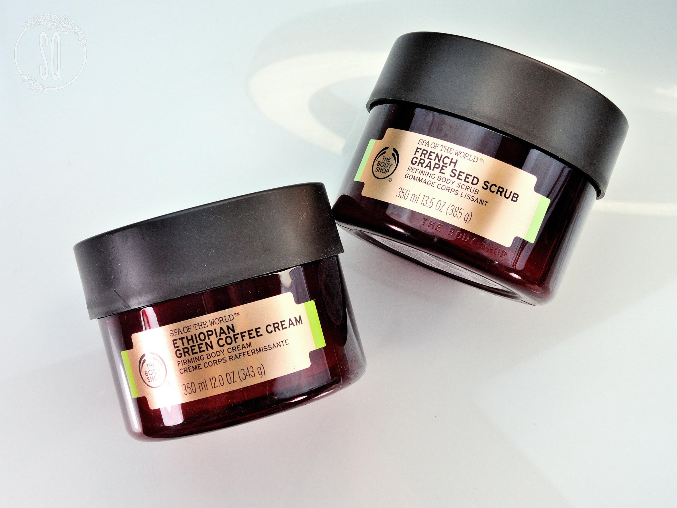 Nuevos productos de la línea de Spa of the World de The Body Shop