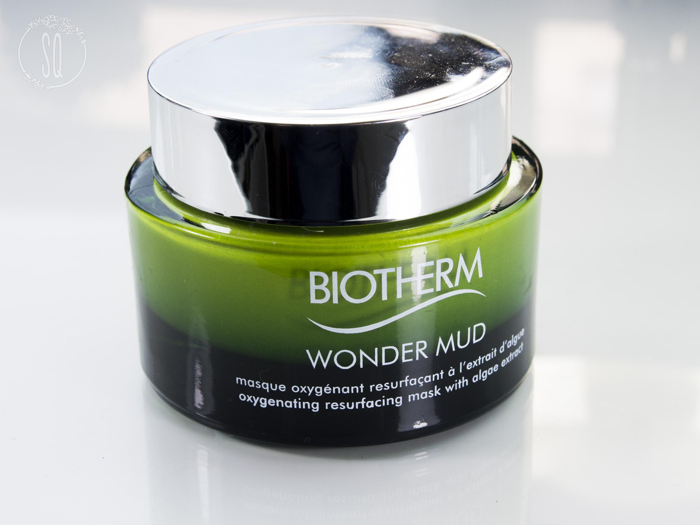 Mascarilla Wonder Mud de Biotherm, reduce los poros y aporta luminosidad