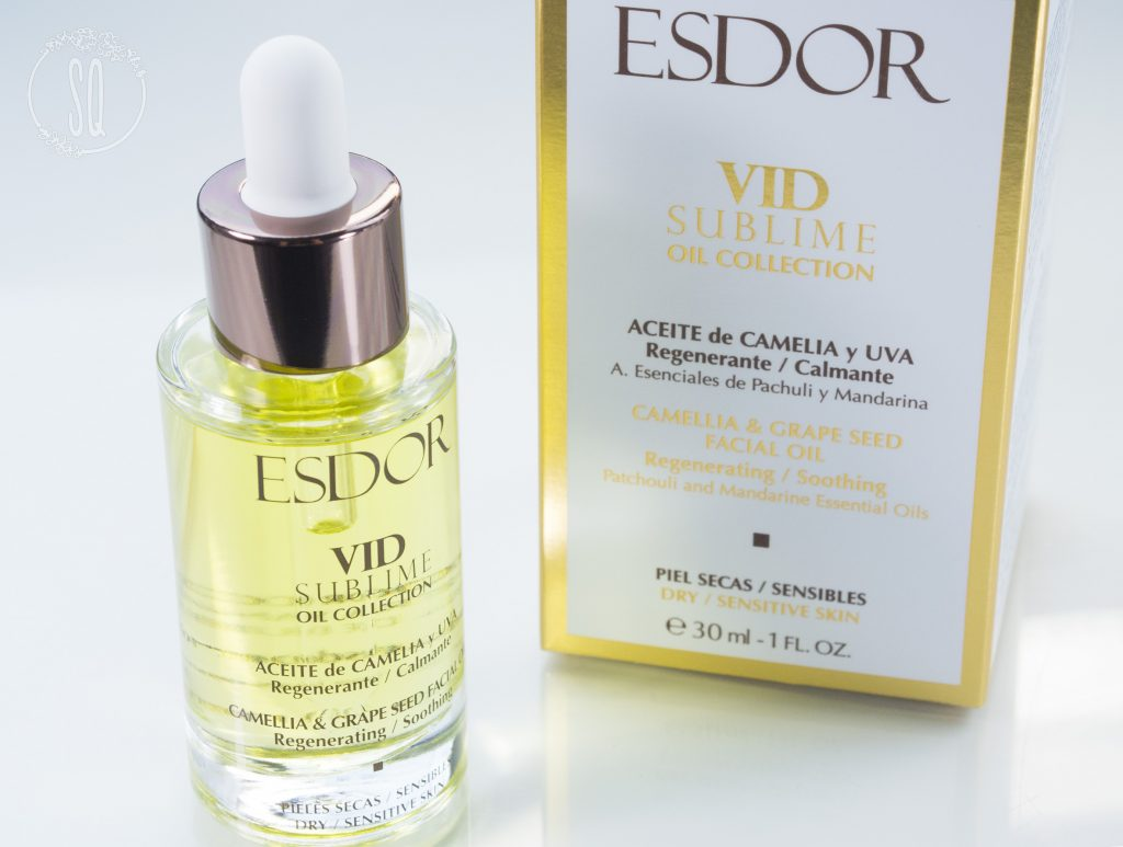 Aceite regenerante y calmante Vid Sublime Oil Collection de Esdor