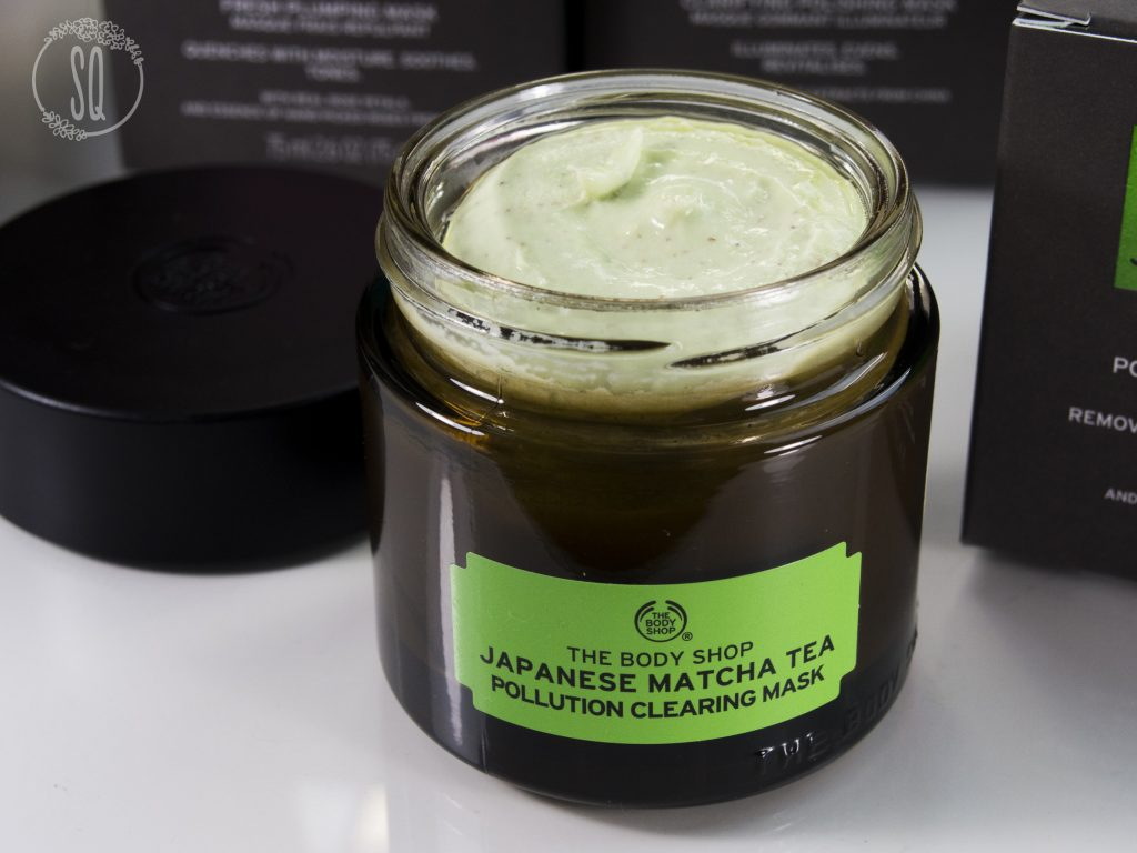 Nueva mascarilla del rostro de Matcha de The Body Shop