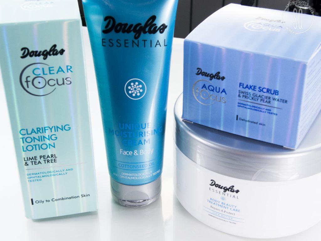 Douglas Essential y Clear Focus para el cuidado de la piel del rostro y del cuerpo