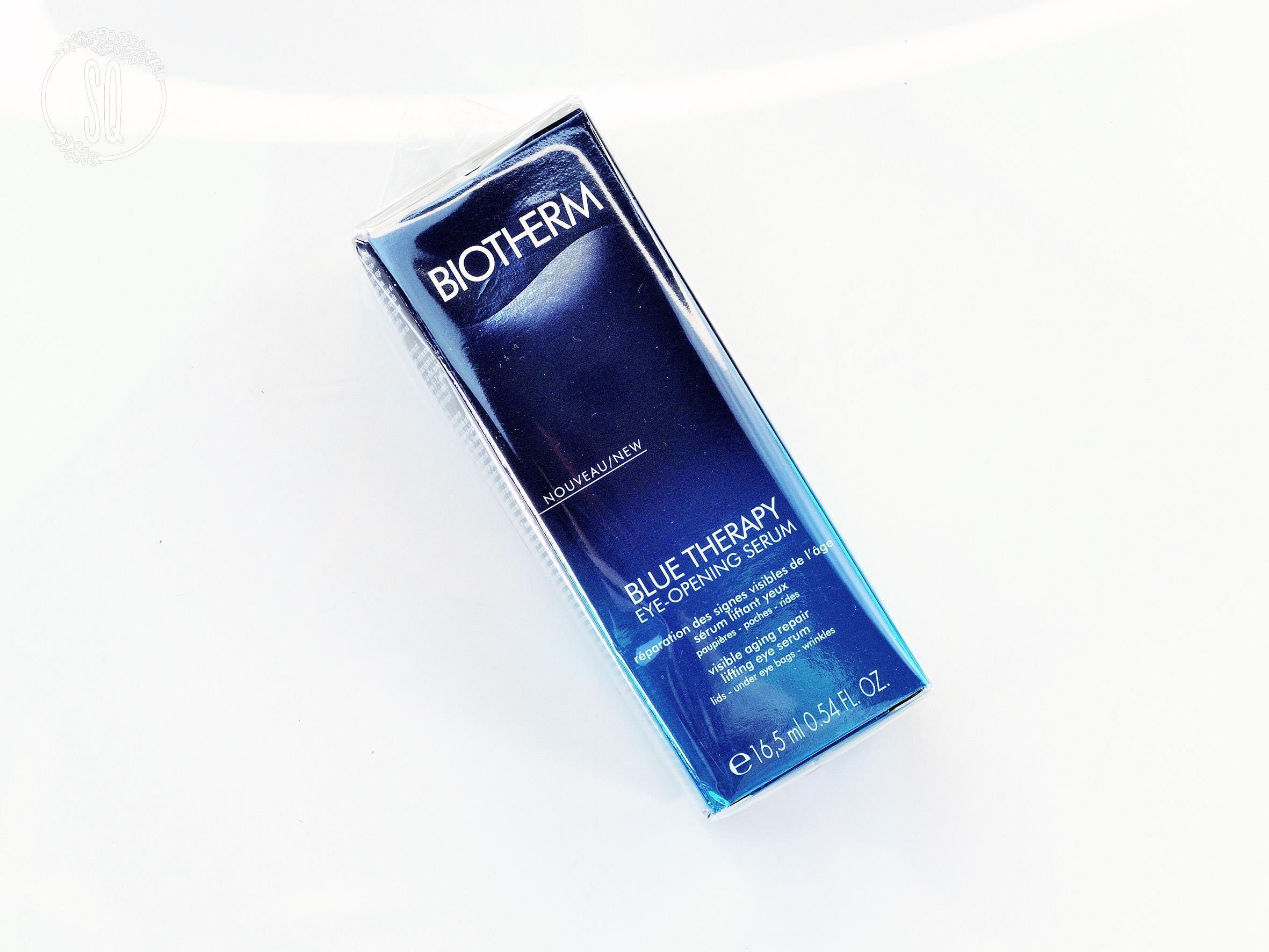 Serum para el contorno de ojos Blue Therapy de Biotherm