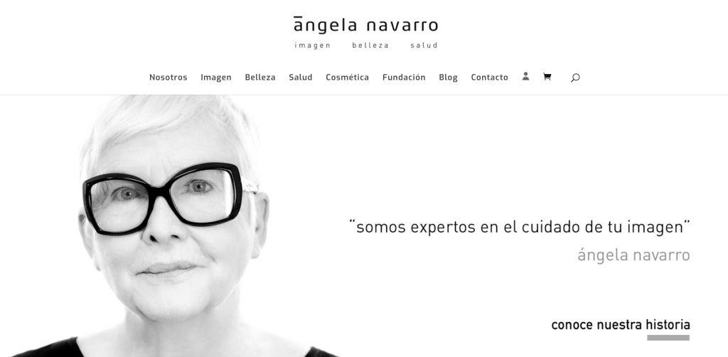 Productos solidarios en Angela Navarro