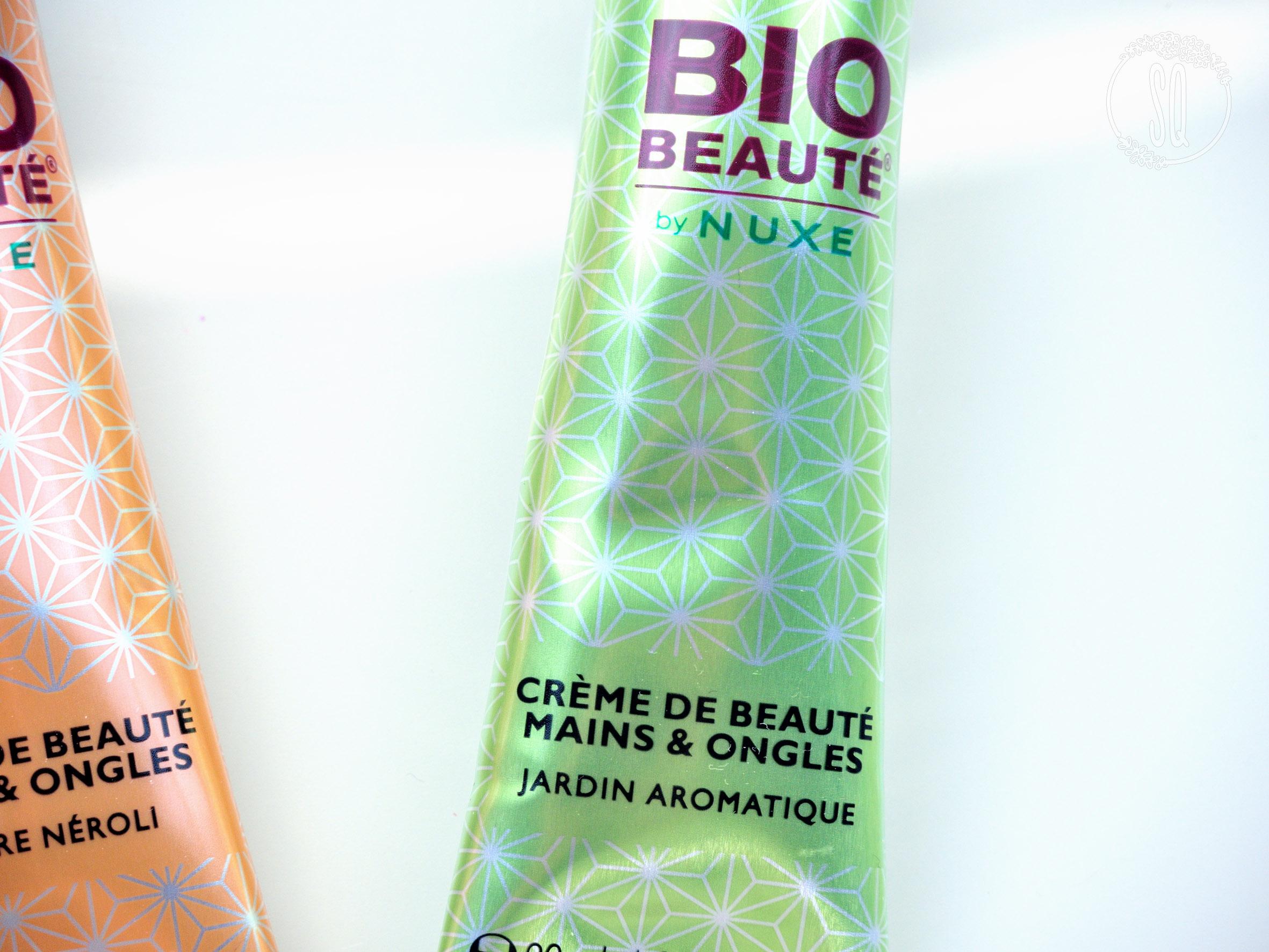 Cremas de manos de Bio Beaute de Nuxe