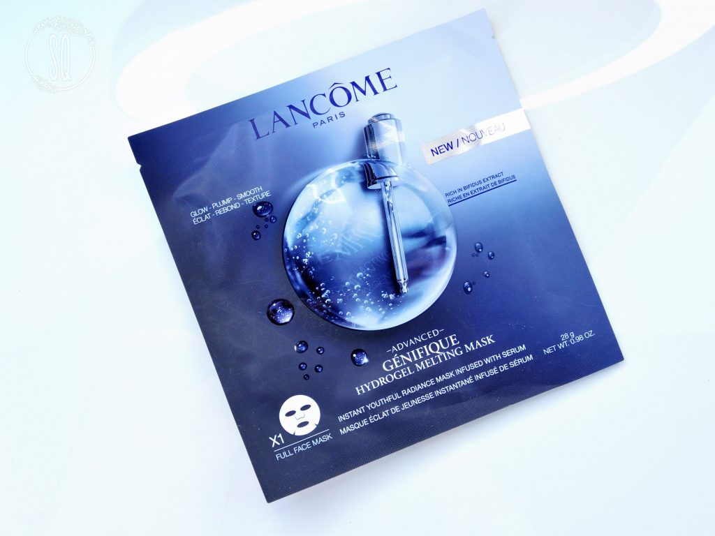 Mascarilla Advanced Génifique mascarilla fundente hidragel efecto flash de Lancome