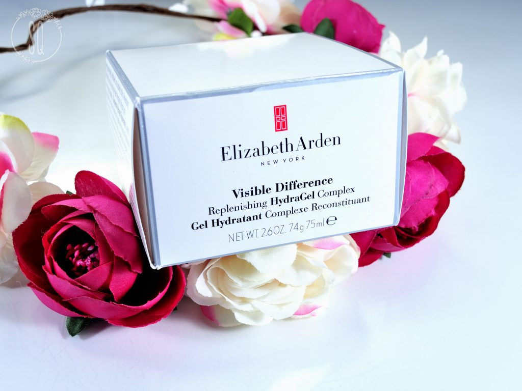 Relleno e hidratación 24 horas con Visible Difference Hydragel de Elizabeth Arden