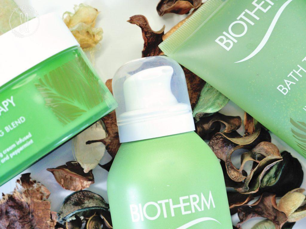 Línea vigorizante de Bath Therapy de Biotherm