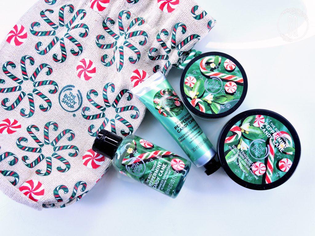 Colección de Navidad de The Body Shop, perfecto para regalo
