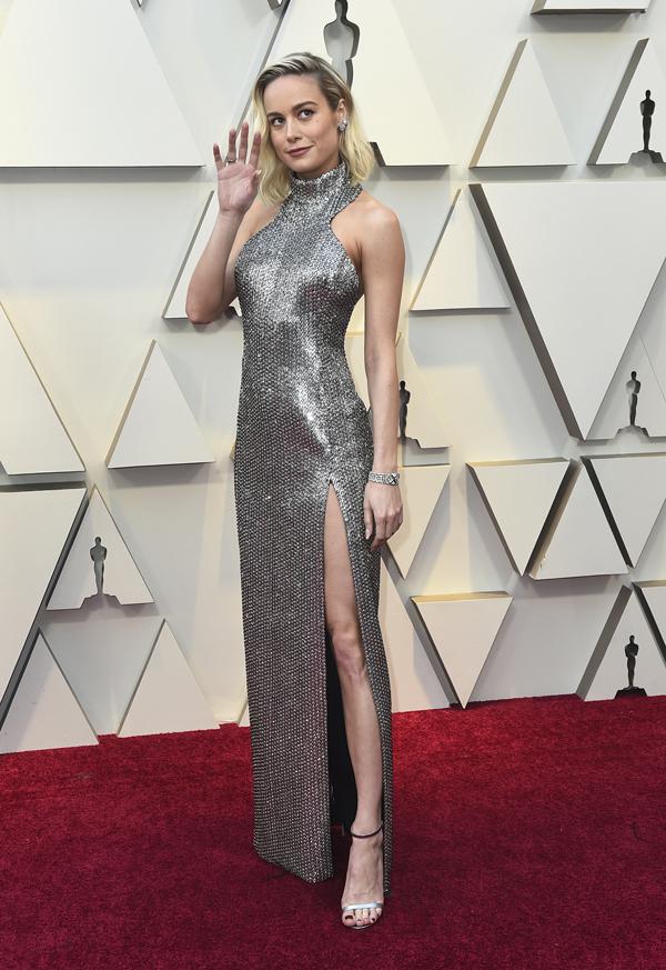 Brie Larson en los Oscars 2019
