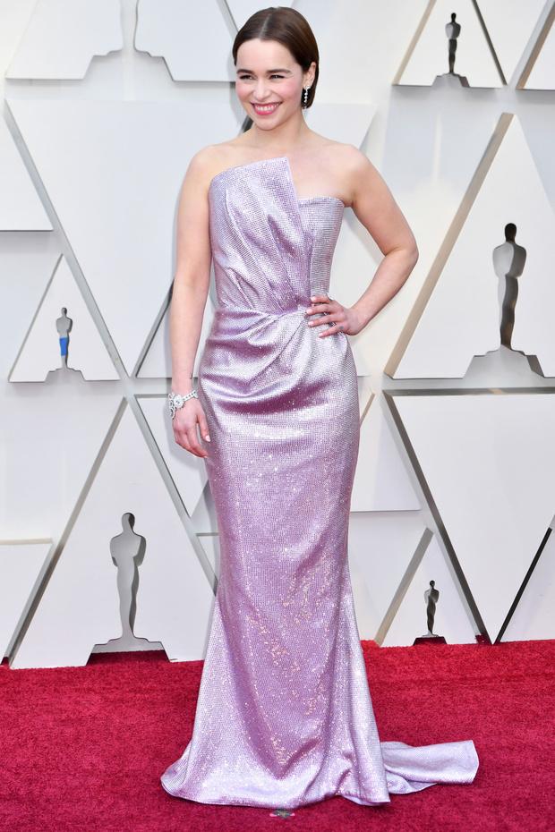 Emilia Clarke en los oscars 2019