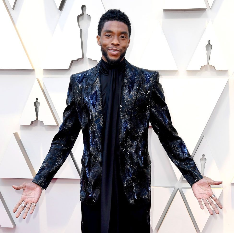 Chadwick Boseman en los oscars 2019