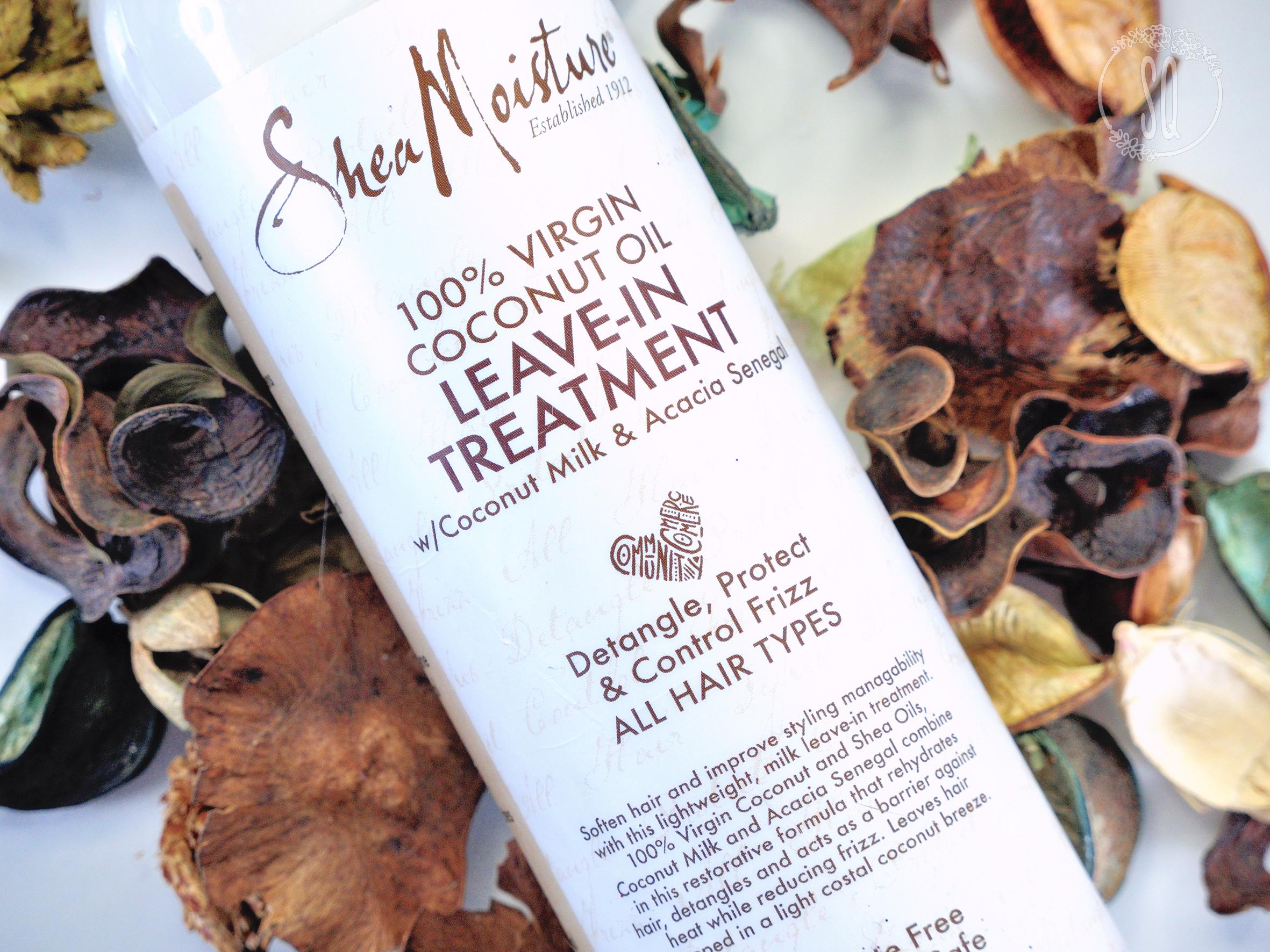 Tratamiento de aceite de coco para el cabello de Shea Moisture