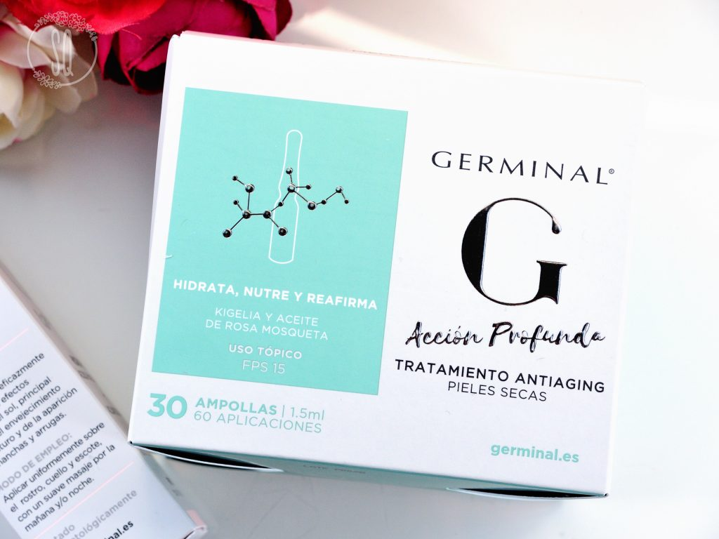 Nuevos tratamientos de hidratación profunda y protección solar de Germinal