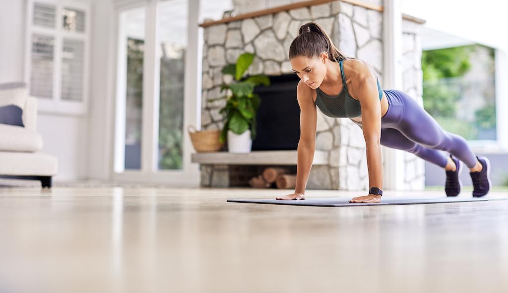 Entrenar en casa, momento perfecto para empezar a estar en forma
