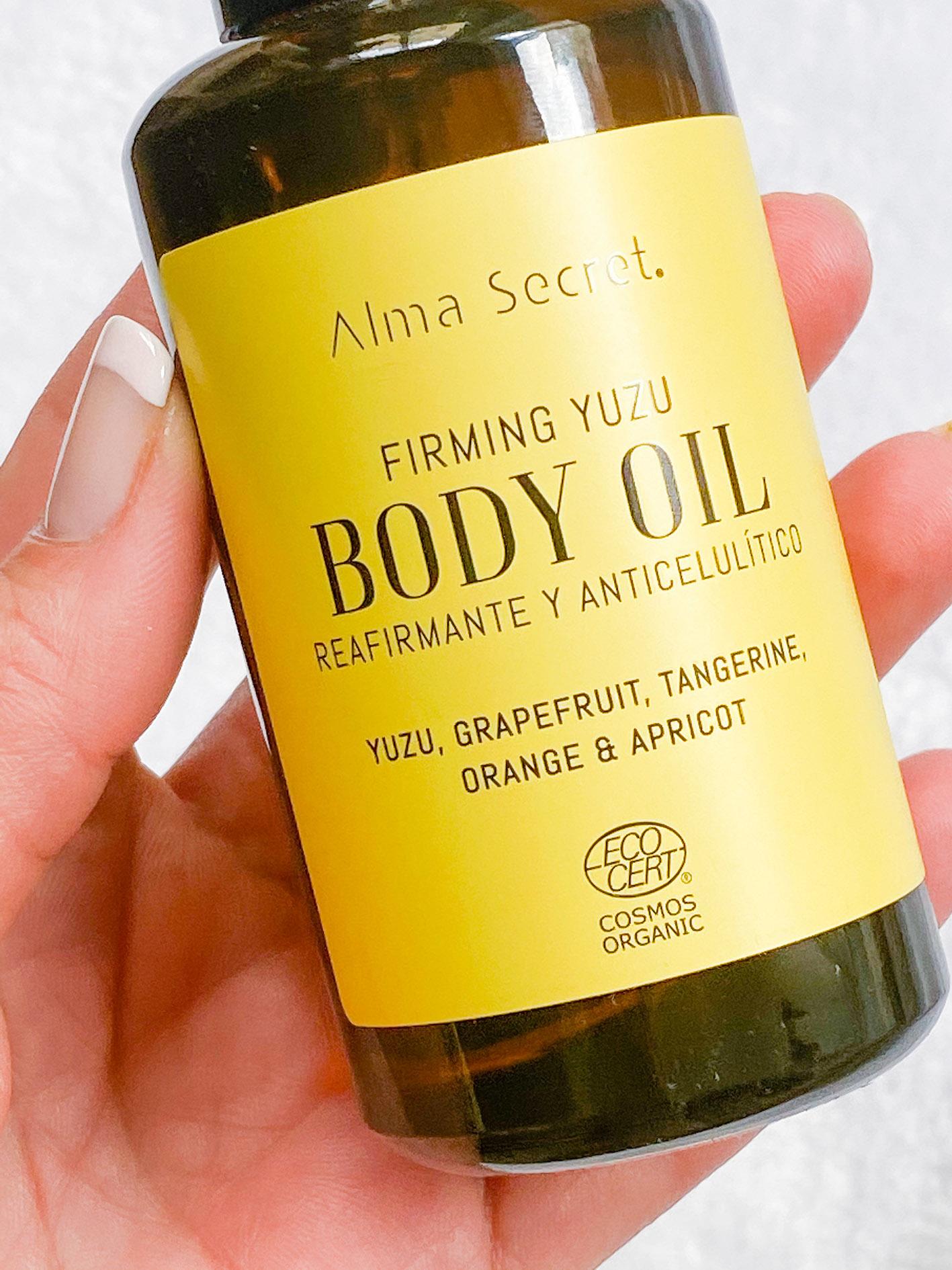 Firmin Yuzu body oil Alma Secret