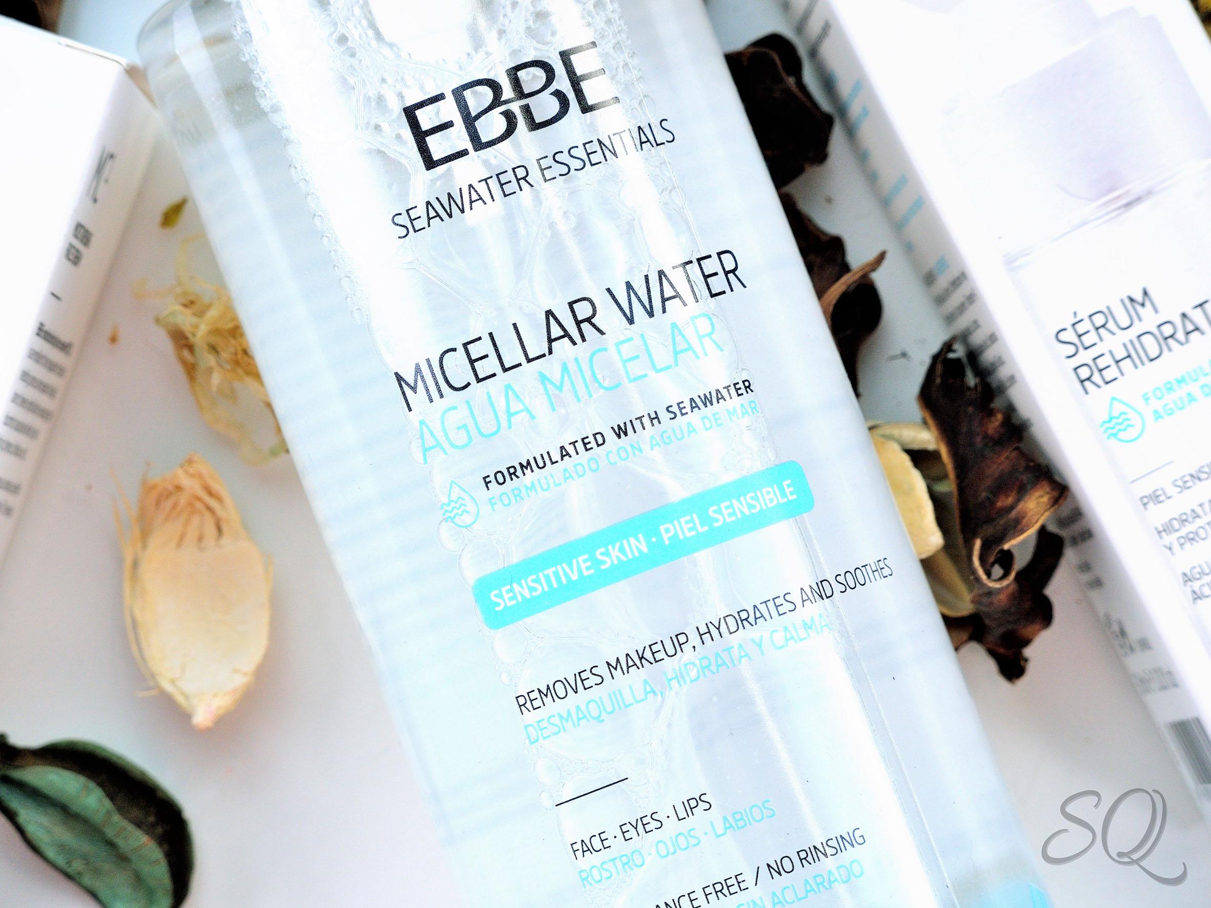 Agua Micelar EBBE