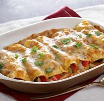 Cocina Enchiladas de verduras asadas