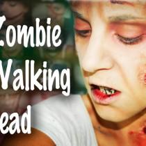 Maquillaje Halloween Zombie FX The Walking Dead Makeup Silvia Quiros