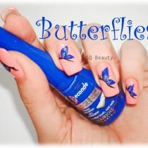 Nail Friday Butterflies Silvia Quiros SQ Beauty Uñas