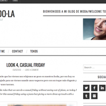 Fashion Friday Mi blog de moda VistiendoLA Silvia Quiros