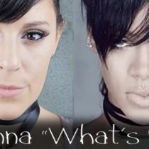 rihanna whats now Silvia Quiros maquillaje makeup