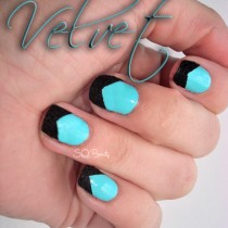 Nail Friday Caviar & Velvet