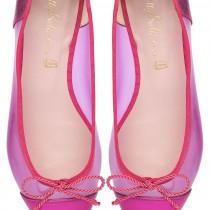 Ella hot pink vinyl - pair