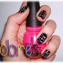 Nail Friday Manicura detalle de color