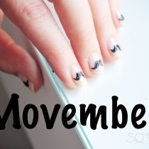 Nail Friday manicura Movember