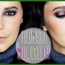 Maquillaje ahumado multicolor tutorial