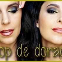 Tutorial maquillaje Pop de dorado
