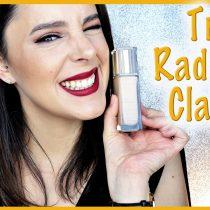 Poniendo a prueba la base True Radiance de Clarins