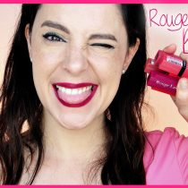 Probando nuevos labiales Rouge Laquer de Bourjois
