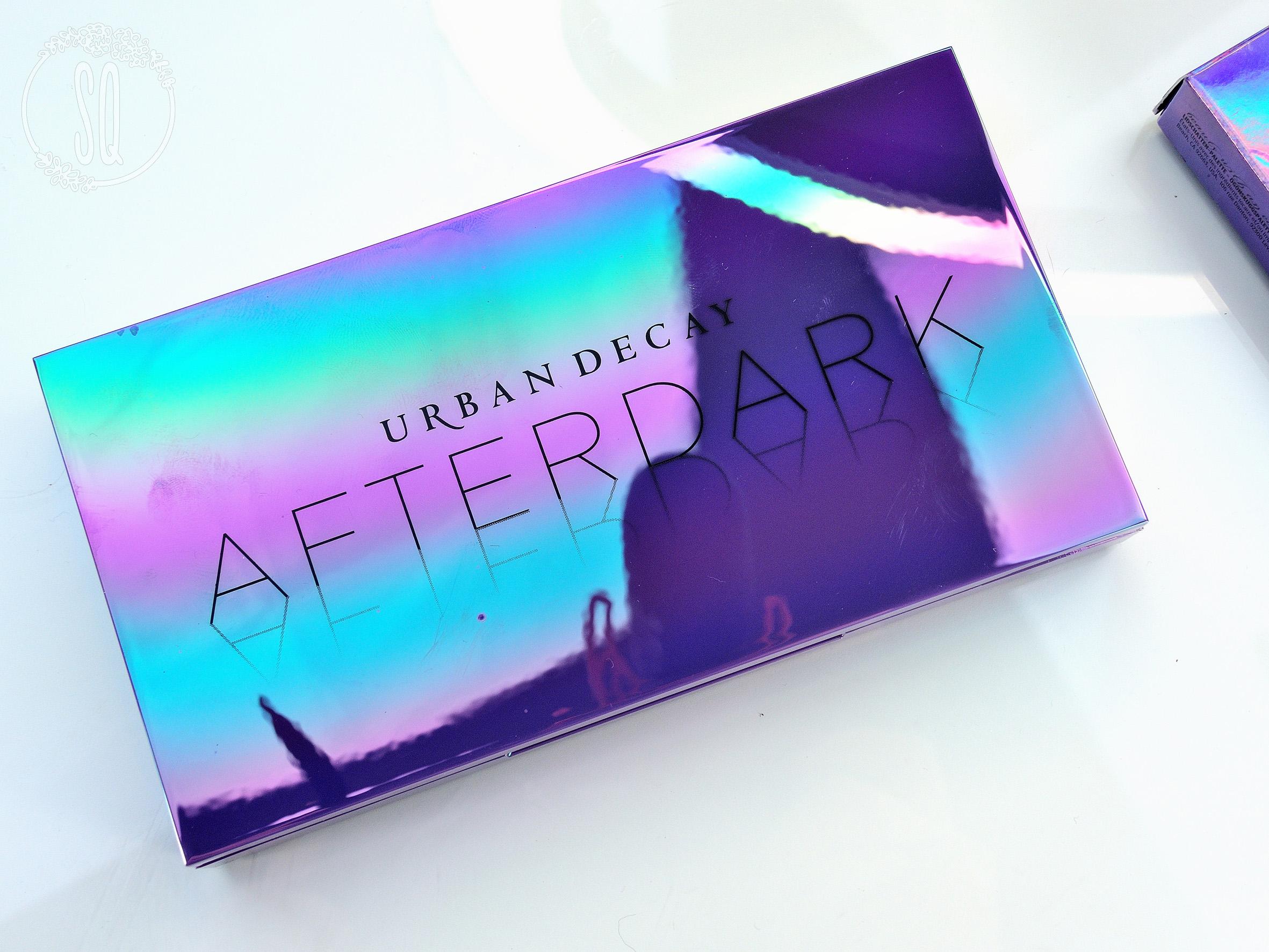 Reseña paleta de sombras AfterDark de Urban Decay