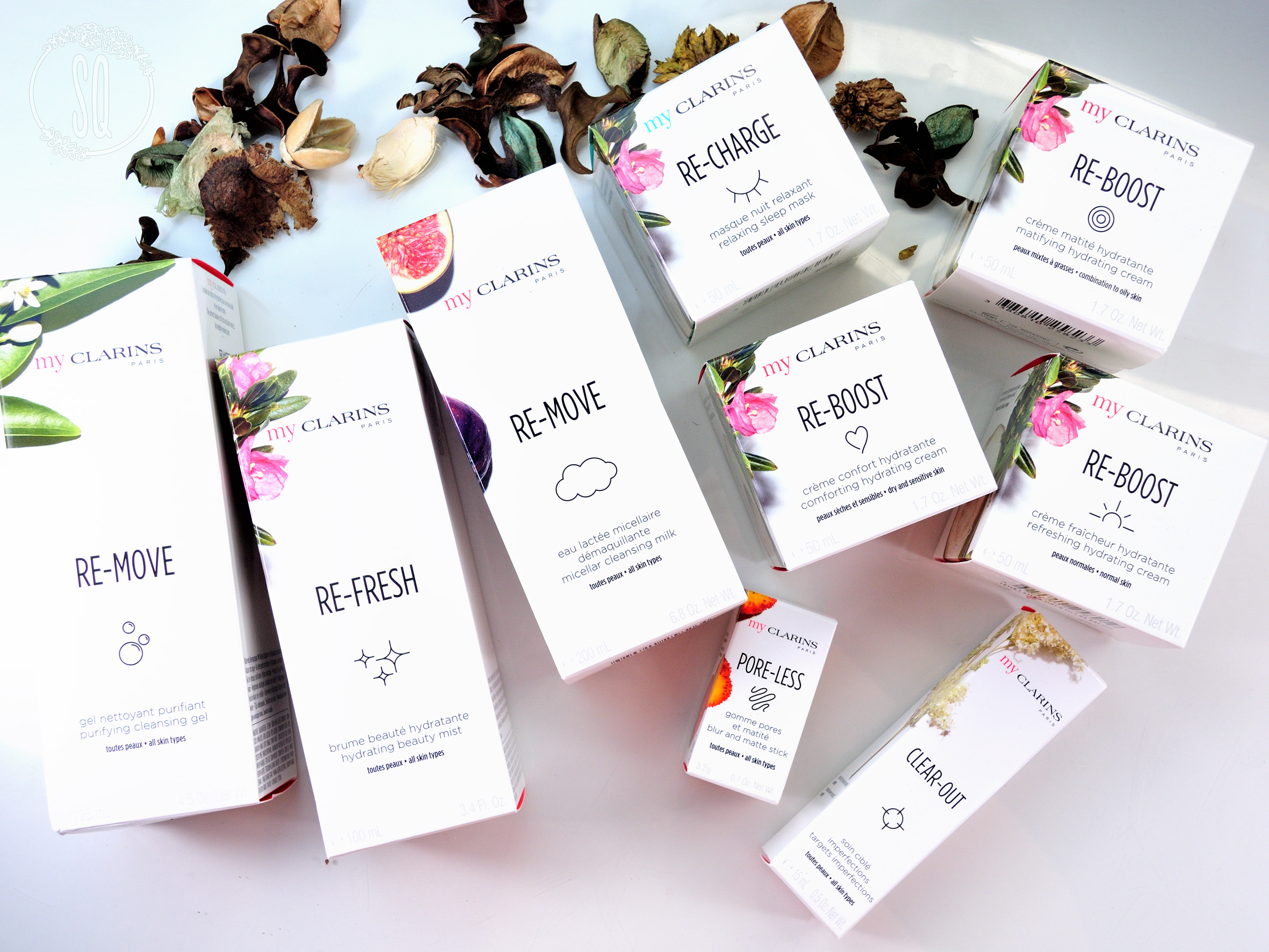 My Clarins, la opción a base de frutas y plantas para el cuidado de la piel