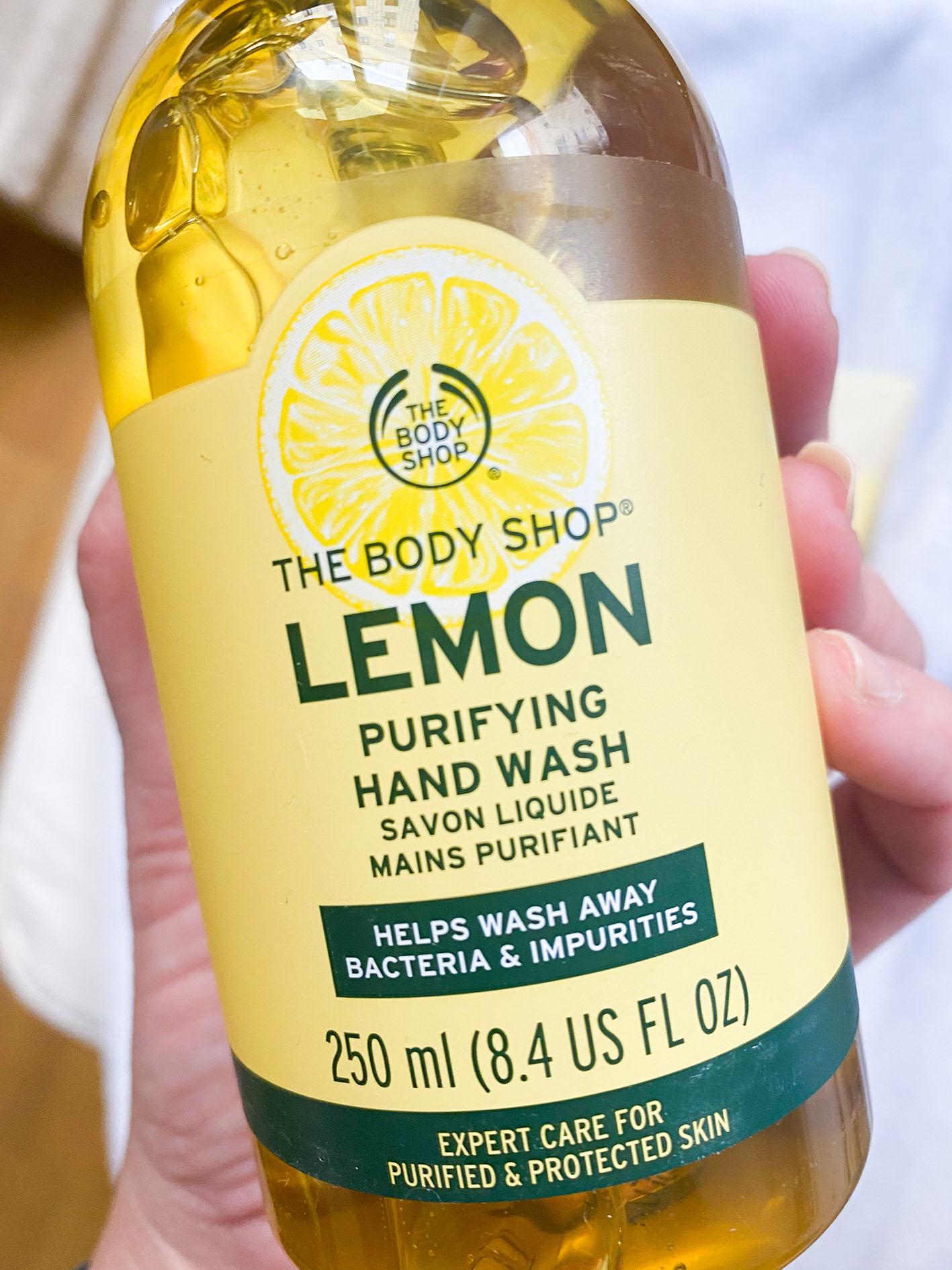 Gel de manos linea LEMON The Body Shop